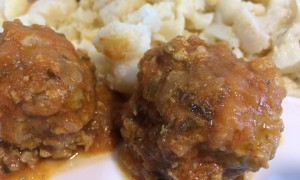 Albóndigas de carne a la asturiana